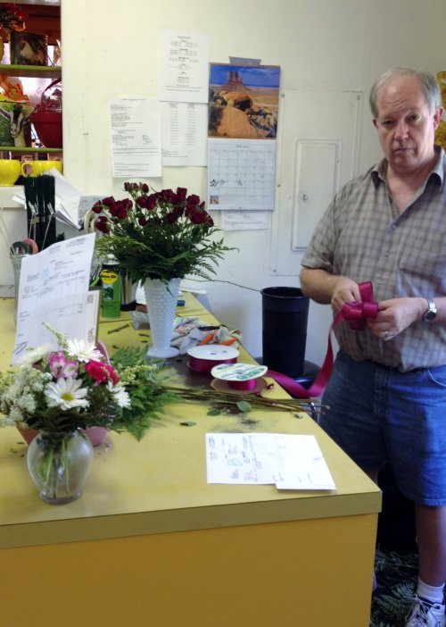 Rod creating beautiful arrangements