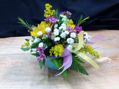 Spring May Day bouquet